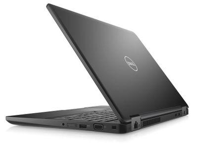"""Dell Latitude 5590 15"""" FHD i5-8350U/8GB/500GB/USB-C/MCR/SCR/HDMI/VGA/W10P/3RNBD/Černý"""