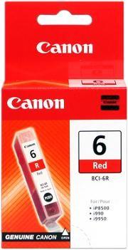 kazeta CANON BCI-6R red PIXMA iP6000D/8500, i9950