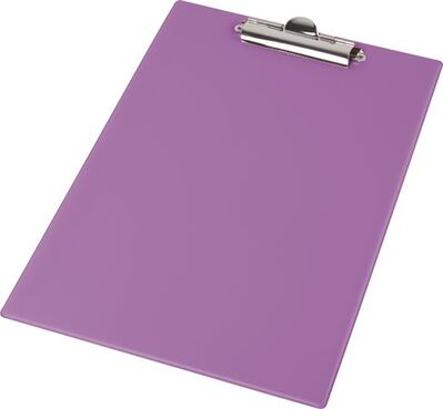 Podložka na písanie, A4, PANTAPLAST, pastelovo fialová