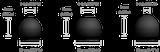 Sluchátka Genius HS-M225 mobile headset,black