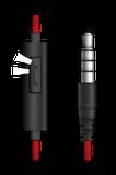 Sluchátka Genius HS-M225 mobile headset,red