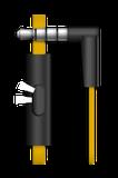 Sluchátka Genius HS-M260 mobile headset,yellow