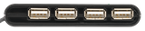 Rozbočovač TRUST 4 Port USB2 Mini HUB HU-4440p