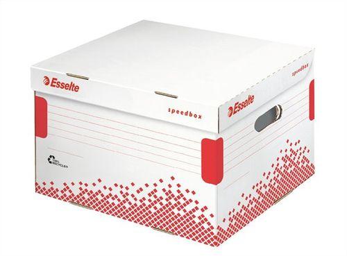 Archívny kontajner, M veľkosť, recyklovaný kartón, ESSELTE
