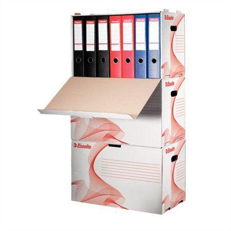 Archívny kontajner, na šanóny, kartónový, ESSELTE