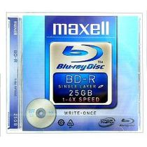 BD-R Maxell 25 Gb, 4x rýchlosť, jewel case