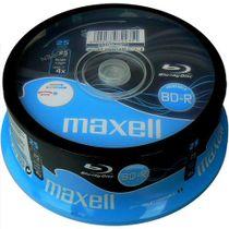 BD-R Maxell, 25 Gb, printable, 4x, cakebox/10