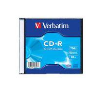 CD-R Verbatim 700 MB 52x , slimbox