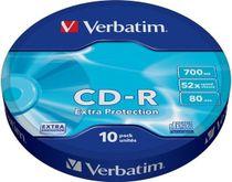 CD-R Verbatim DTL 700 MB 52x , cakebox/10 ks