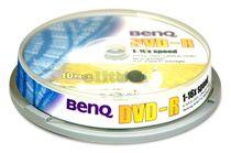 DVD-R Benq 4,7 GB, 16x , cake-10 ks