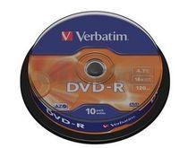 DVD-R VERBATIM 16x cake 10