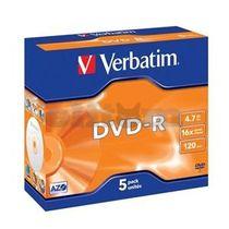 DVD-R VERBATIM 16x jewel case