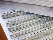 Hrebeňová väzba - 101- 150 strán (kovový hrebeň)