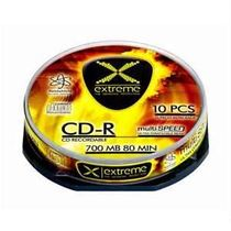 CD-R Extreme 700 MB , 52x , cakebox/10