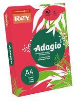 """Kopírovací papier, farebný, A4, 80 g, REY """"Adagio"""", intenzívny červený"""
