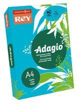 """Kopírovací papier, farebný, A4, 80 g, REY """"Adagio"""", intenzívny modrý"""