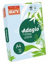 """Kopírovací papier, farebný, A4, 80 g, REY """"Adagio"""", pastelovo modrý"""
