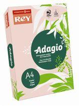 """Kopírovací papier, farebný, A4, 80 g, REY """"Adagio"""", pastelovo ružový"""