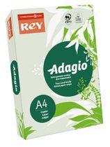 """Kopírovací papier, farebný, A4, 80 g, REY """"Adagio"""", pastelovo zelený"""