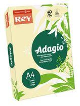 """Kopírovací papier, farebný, A4, 80 g, REY """"Adagio"""", pastelovo žltý"""