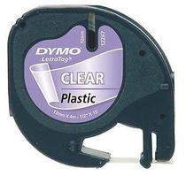 páska DYMO 16951 (12268) LetraTag Transparent Plastic Tape (12mm)