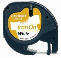 páska DYMO 18770 LetraTag White Iron-On Tape (12mm)