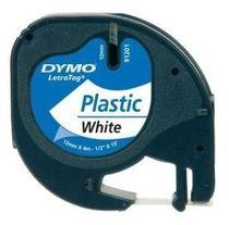 páska DYMO 59422 LetraTag White Plastic Tape (12mm)