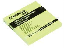 """Samolepiaci bloček, 76x76mm, 100 listov, DONAU """"ECO"""", žltý"""