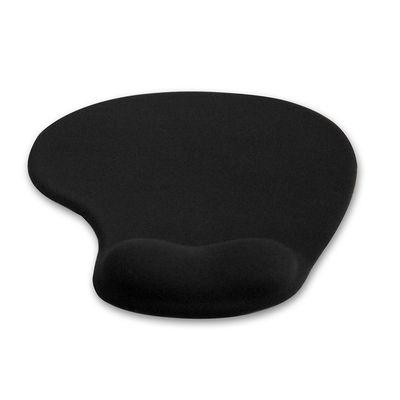 4W Podložka pod myš ergonomická gelová Black