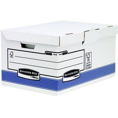 """Archívny kontajner s padacím vekom, """"BANKERS BOX®  SYSTEM BY FELLOWES® """", modrý"""