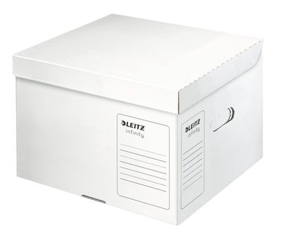 """Archívny kontajner, veľkosť M, LEITZ """"Infinity"""", biely"""