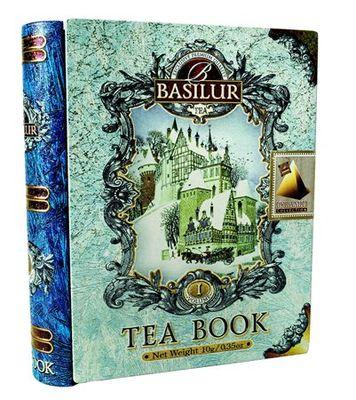 """Čierny čaj, porciovaný, 10 g, kovový obal, """"BASILUR Miniature Tea Book Vol.I"""""""