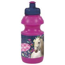 DerForm Fľaša na pitie Horses : Ružová (DFM-BKO11)