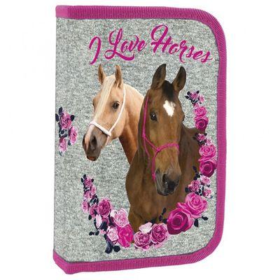 Derform peračník, 1 poschodový, plný, I Love Horses NEW (DFM-PWJKO13)
