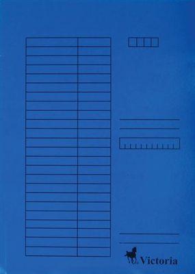 Doska s chlopňami, kartón, A4, VICTORIA, modrá