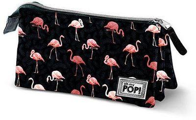 Flamingo Oh My Pop trojkomorové puzdro na ceruzku Flaminpop (ZTD-389428)