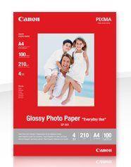 Fotopapier, Canon GP-501, 10x15 cm/210g/10 ks, jemne lesklý