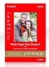 Fotopapier, Canon PP-201S, 10x15 cm/275g/50 ks, lesklý