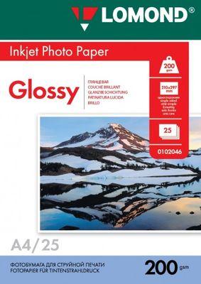 Fotopapier Lomond, lesklý, 200 g/m2, A4, 25 hárkov (0102046)