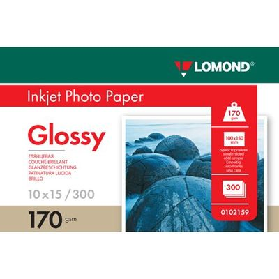 Fotopapier Lomond, lesklý, 170 g/m2, 10x15, 300 hárkov, (0102159)