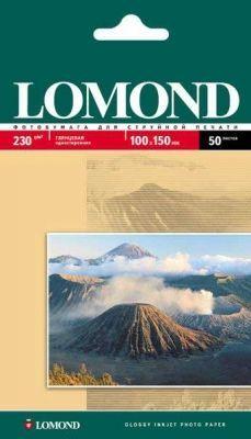Fotopapier Lomond, lesklý, 230 g/m2, 10x15, 50 hárkov