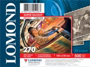 Fotopapier Lomond Premium, extra lesklý, 270 g/m2, 10x15, 500 hárkov, Bright, (1106103)