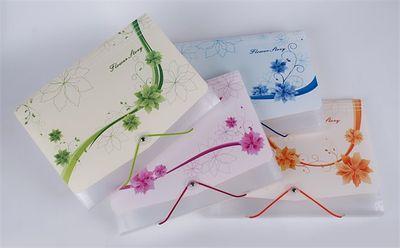 """Harmonikové dosky, A4, 12 priehradiek, PP, s gumičkou, """"Flower story"""", rôzne farby"""