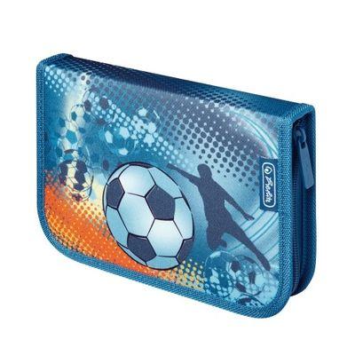 Herlitz peračník, 1 poschodový, plný, Soccer (HRL-11438645)