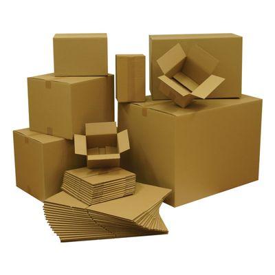 Kartónová krabica 3VVL, 300x300x300 mm, 25 ks/bal
