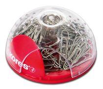 """Magnetický zásobník """"OFFICE BUBBLE"""" na sponky + 100 ks sponiek"""