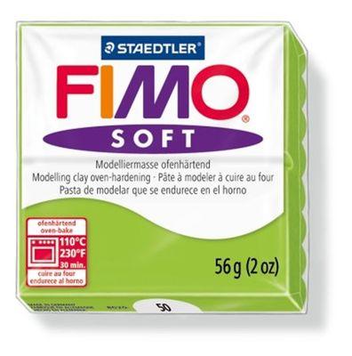 "Modelovacia hmota, 56 g, FIMO ""Soft"", jablkovo zelená"