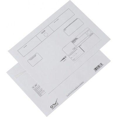 Obálka C4 doporučene s páskou