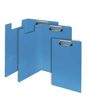 """Podložka na písanie, s príklopom, A4, FLEXOFFICE """"FO-CB03"""", modrá"""