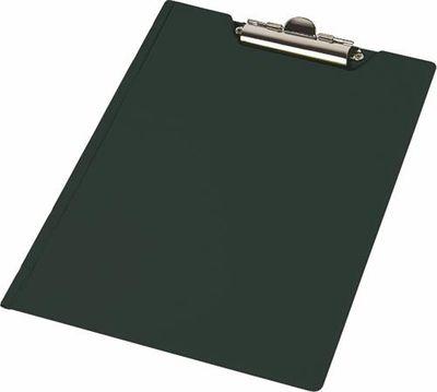 Podložka na písanie, s príklopom,  A4, rohové vrecko, PANTAPLAST, čierna